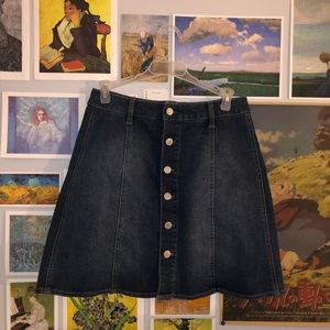 ☆ mossimo supply co jean skirt ☆